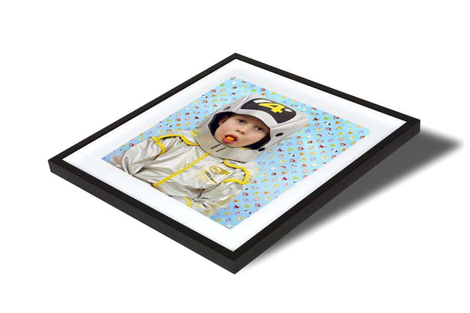 Classic photo framing in smooth black - Professional Online Photo ...